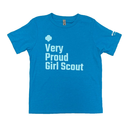 GSNETX Very Proud Girl Scout Tee