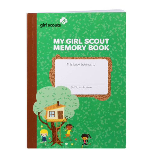 My Girl Scout Brownie Memory Book