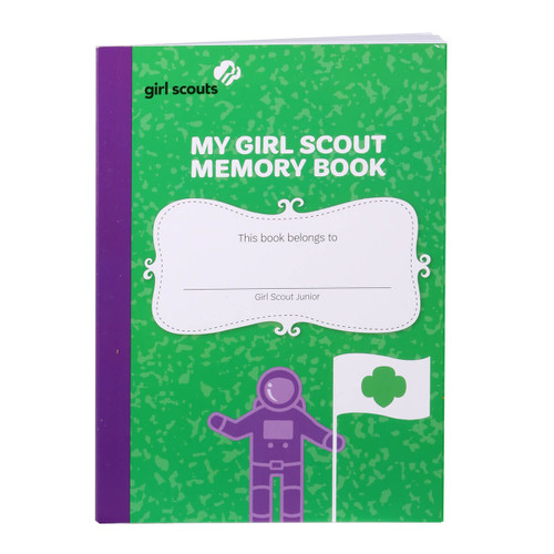 My Girl Scout Junior Memory Book