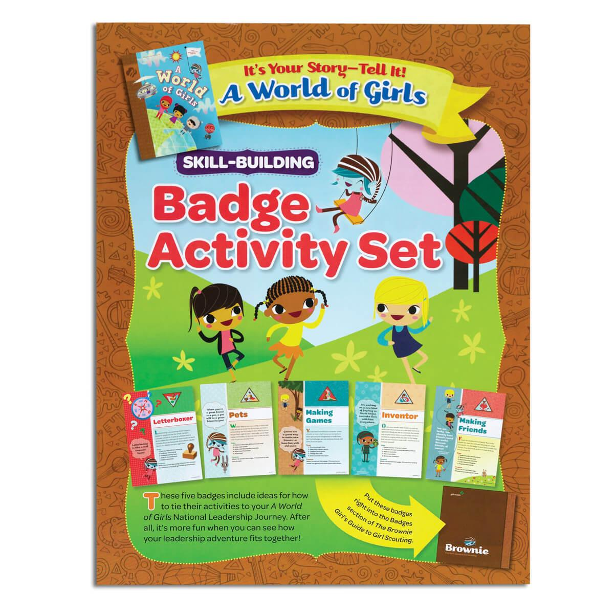 Brownie Letterboxer Badge Girl Scout Shop