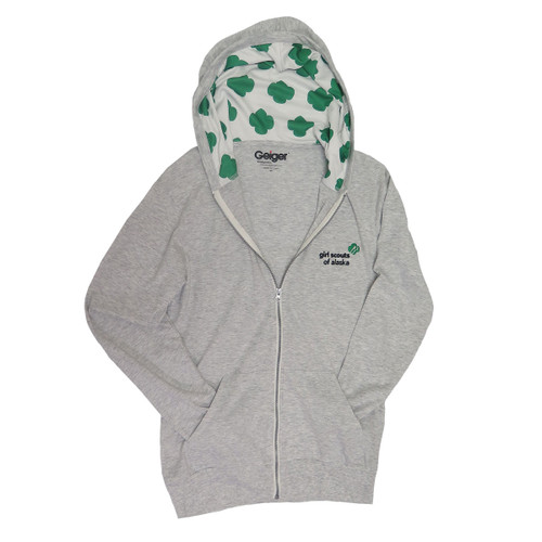 GSAK Lightweight Trefoil Hooded Zip