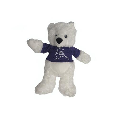 GSAK Stuffed Polar Bear