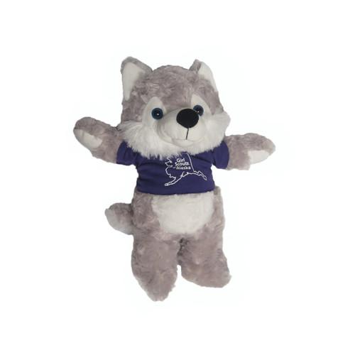 GSAK Stuffed Wolf