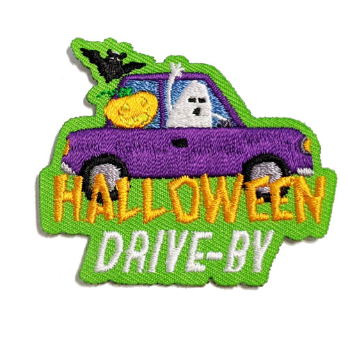 GSSOAZ Halloween Drive-By fun patch