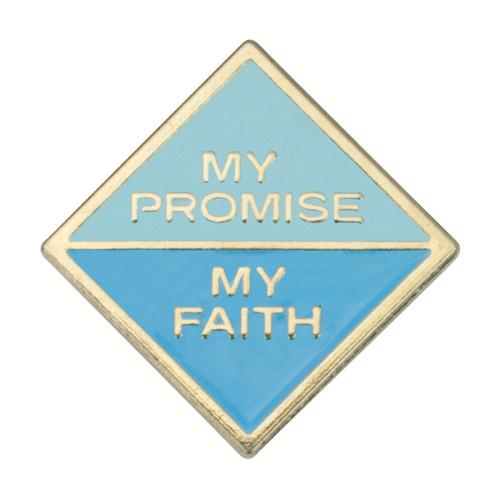 Daisy My Promise, My Faith Pin