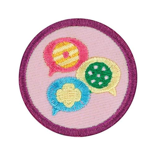 junior cookie collaborator badge