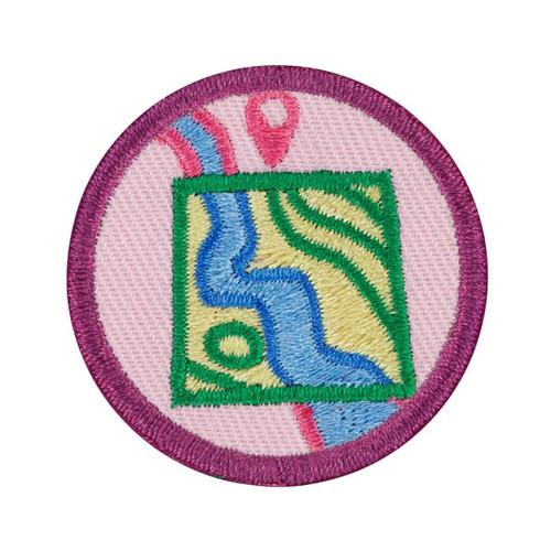 junior design with nature badge