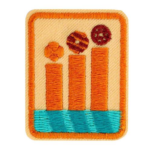 senior cookie boss badge