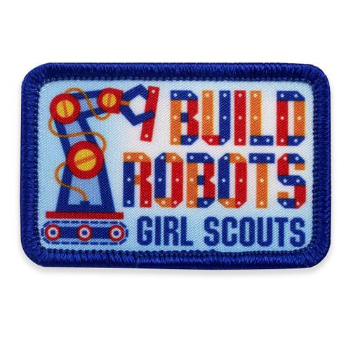 GSGLA I Build Robots Fun Patch