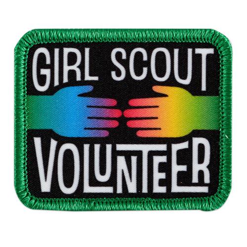 GSGLA Girl Scout Volunteer Fun Patc