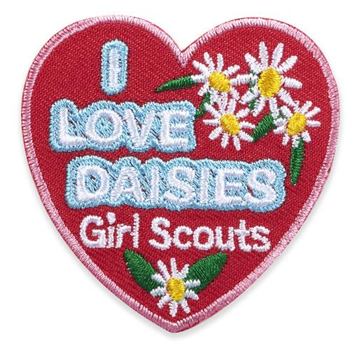 GSGLA I Love Daisies Fun Patch