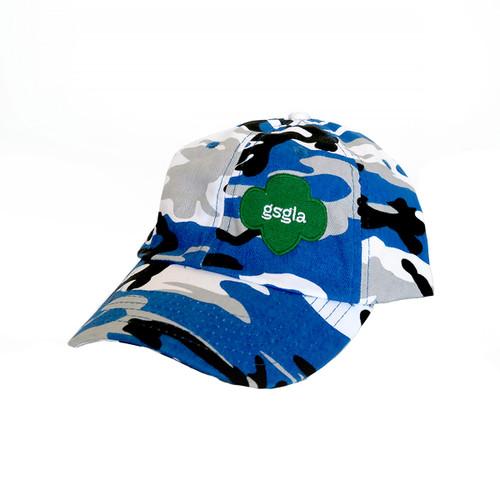 GSGLA Blue Camo Baseball Cap