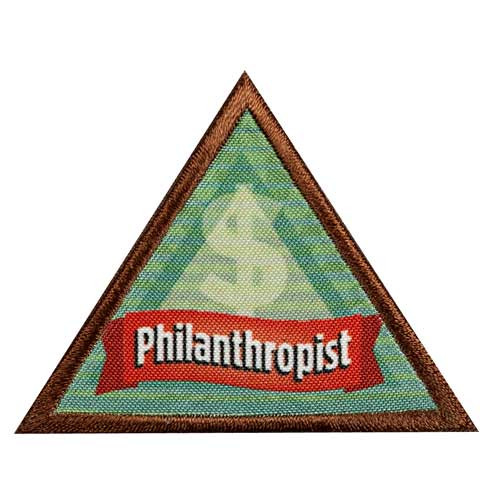 Brownie Philanthropist Badge