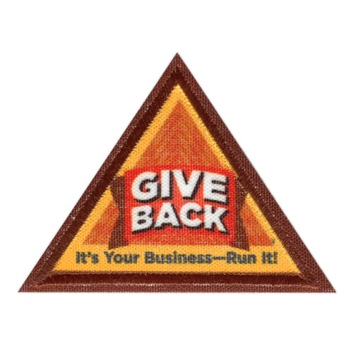 Brownie Give Back Badge