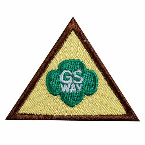 Brownie Girl Scout Way Badge