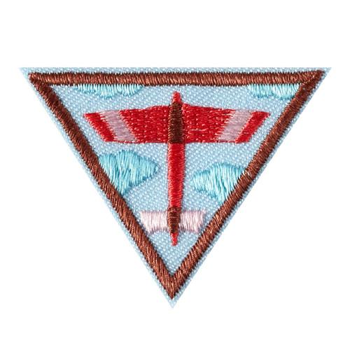 Brownie Fling Flyer Design Badge
