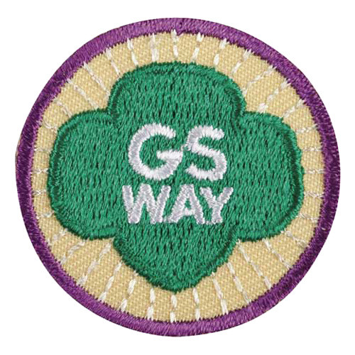 Junior Girl Scout Way Badge
