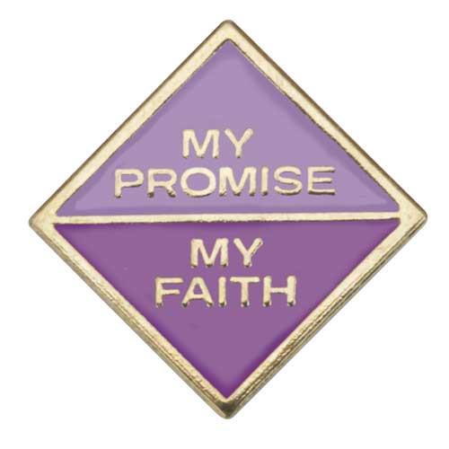 Junior My Promise, My Faith Pin