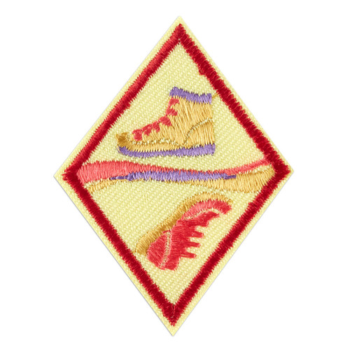 Cadette Trail Adventure Badge