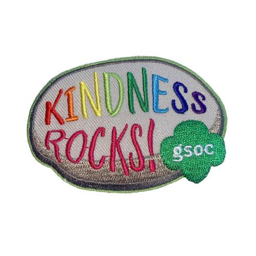 GSOC Kindness Rocks Fun Patch