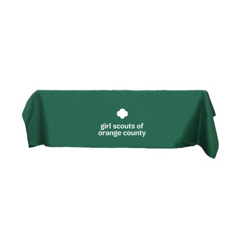 "GSOC ""Trefoil"" Tablecloth"