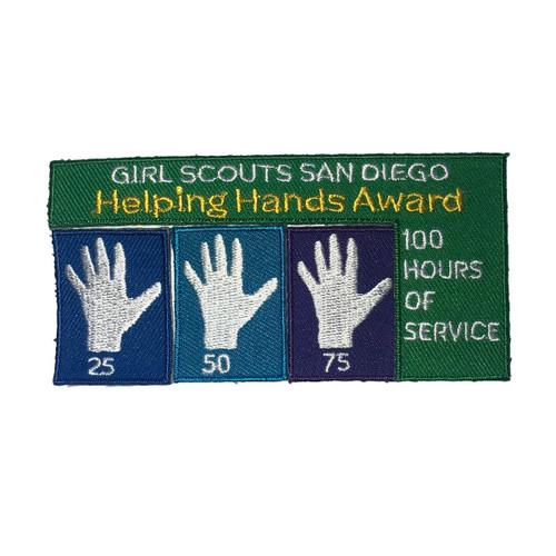 GSSD Helping Hands Patch Set (4 pat