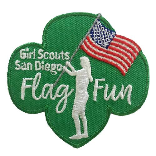 GSSD Flag Fun Trefoil