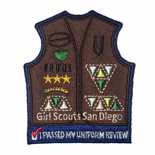 GSSD Uniform Review Brownie