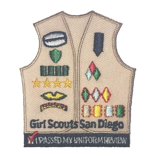 GSSD Uniform Review Tan
