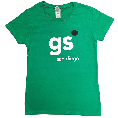 GSSD Green Shorthand Tee