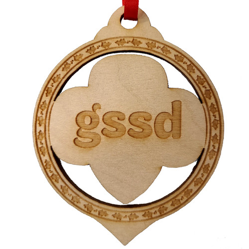 GSSD Wood Ornament