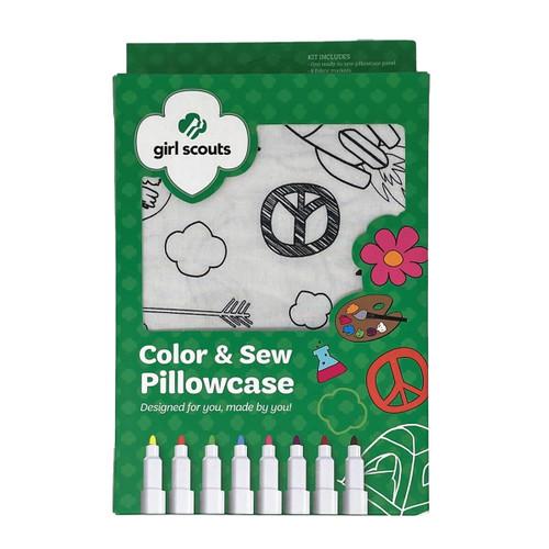 GSHCC Color & Sew Pillowcase