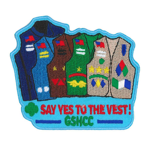 GSHCC Say Yes to the Vest Fun Patch