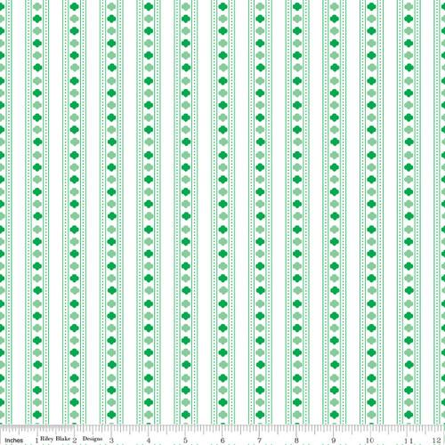 GSHCC Fabric By The Yard Green Str
