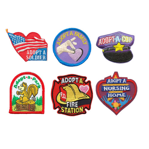 GSNorCal Iron on Fun Patches - Adop
