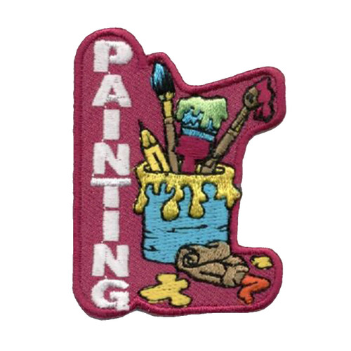 GSNorCal Iron on Fun Patches - Art