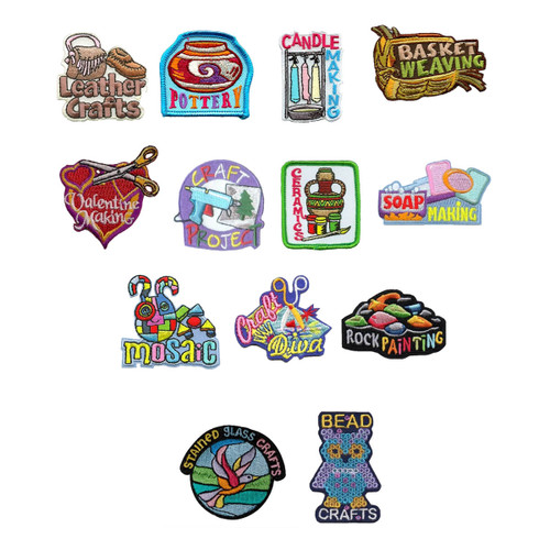 GSNorCal Iron on Fun Patches for Yo