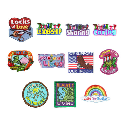 GSNorCal Iron on Fun Patches for Ev