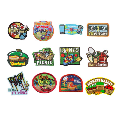 GSNorCal Iron on Fun Patches - Get