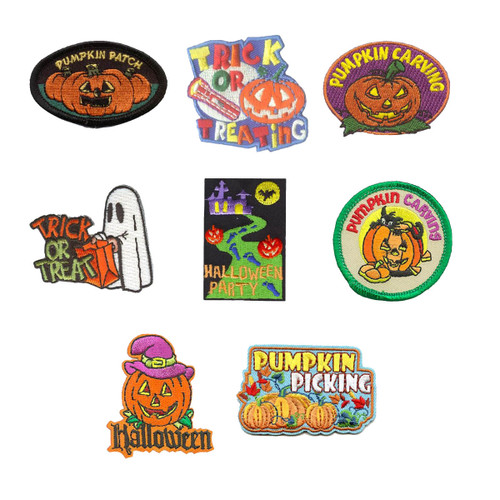 GSNorCal Iron on Fun Patches - Hal