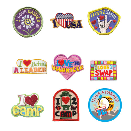 GSNorCal Iron on Fun Patches - Thin