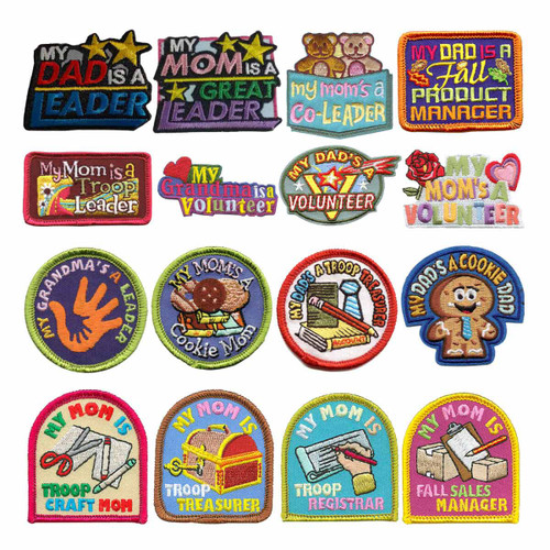 GSNorCal Iron on Fun Patches - My ?