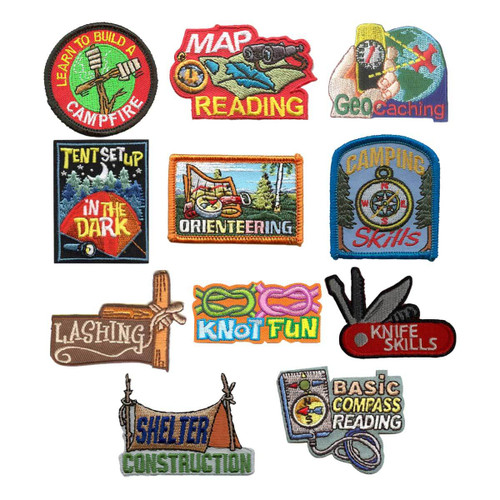GSNorCal Iron on Fun Patches - Outd