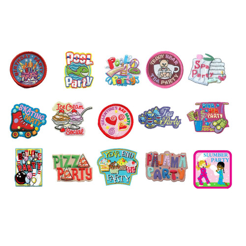GSNorCal Iron on Fun Patches - Let'