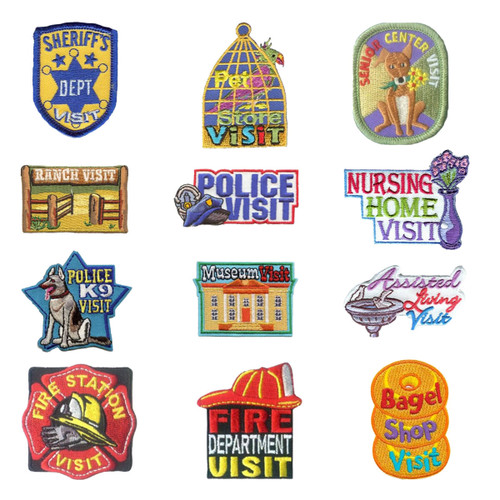 GSNorCal Iron on Fun Patches - Plac
