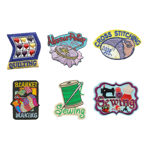 GSNorCal Iron on Fun Patches - Sewi