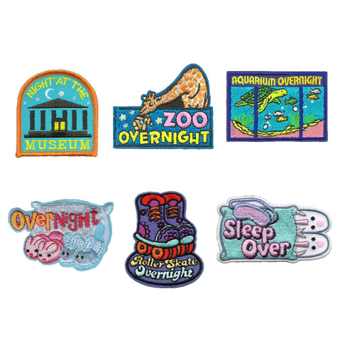 GSNorCal Iron on Fun Patches - Slee