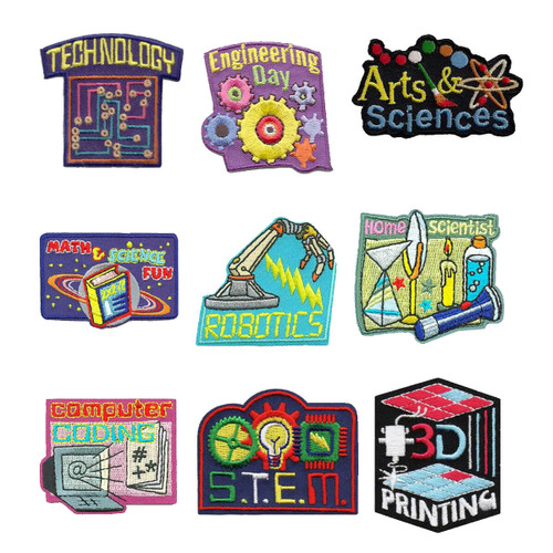 GSNorCal Iron on Fun Patches - S.T.