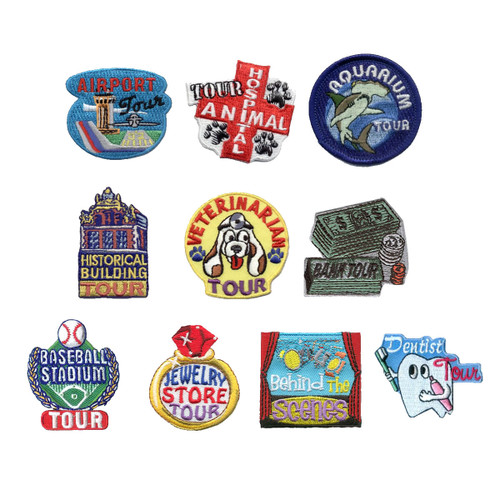 GSNorCal Iron on Fun Patches - Care
