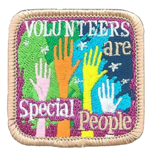 volunteers are special people